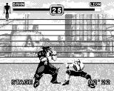 Fighters Megamix Game.Com One of the better backgrounds in the game.