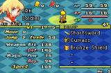 Final Fantasy Tactics Advance Game Boy Advance Status screen