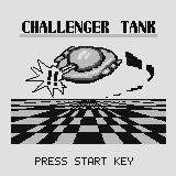 Challenger Tank Supervision Title screen. The tank can't actually fly in-game...