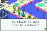 Mega Man Battle Network 3: Blue Version Game Boy Advance I hope it will never happen to me...