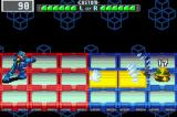 Mega Man Battle Network 3: Blue Version Game Boy Advance One virus less