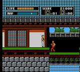 The Karate Kid NES Come here!