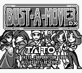Bust-A-Move 3 DX Game Boy Title screen
