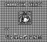 Bust-A-Move 3 DX Game Boy In challenge mode, we can select our character.