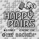 Happy Pairs Supervision Title screen.
