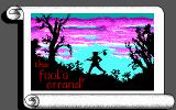The Fool's Errand DOS Title Screen