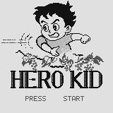 Hero Kid Supervision Title screen.