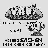 Kabi-Island Supervision Title screen. Gold in island!