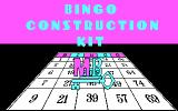 MB Bingo DOS Title screen 1 (CGA)
