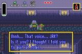The Legend of Zelda: A Link to the Past/Four Swords Game Boy Advance But you never listen to me...