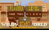 Wild West World DOS Start Screen