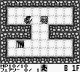 Cave Noire Game Boy The first dungeon floor.