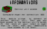 Hexsider DOS Viewing the contents of an information module (EGA)