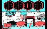 Hexsider DOS Title screen (CGA)