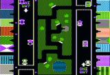 Russki Duck Apple II City map - you're the white dot. Look both ways before crossing the street
