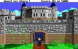 Hero's Quest: So You Want To Be A Hero DOS The castle