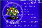 DemiKids: Light Version Game Boy Advance Here's your guide... after growing a bit