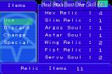 DemiKids: Light Version Game Boy Advance Along with other items, you can get relics and combine them to form new demons