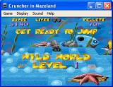 Cruncher in Mazeland Windows Wild World starts with an underwater level