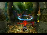 Crash Bandicoot 2: Cortex Strikes Back PlayStation Intro scene: Crash is being teleported
