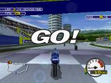 Moto Racer 2 PlayStation The race starts
