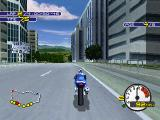 Moto Racer 2 PlayStation Crossing the city