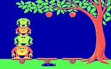 Monkey Business DOS Beginning a game (CGA)