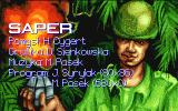 Saper Amiga Title screen