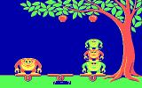 Monkey Business DOS Try to arrange the monkeys so they can reach the apples (CGA)