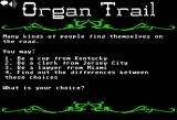 Organ Trail Browser Select a character.