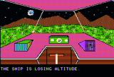 Escape from Traam Apple II The ship is losing altitude! Uh oh!