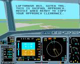 Approach Trainer Amiga Trying to start the plane.