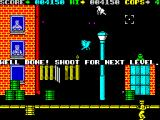 Cop-Out ZX Spectrum Level 1, well done! Shoot for next level.