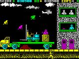 Cop-Out ZX Spectrum Level 9, lots of birds and planes