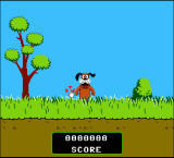 Kill the Dog from Duck Hunt Browser The dog pops up