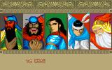 Sango Fighter DOS Choose your character