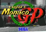 Super Monaco GP Genesis Title Screen 2
