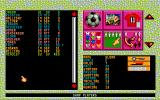 Club & Country Amiga Selecting a squad
