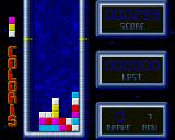 Coloris Amiga Here we just managed to vaporize three blue blocks.