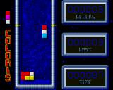 Coloris Amiga In the time game, the game adds lines of unusable blocks.