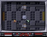 Cyberzerk Amiga One of the first rooms of the first level.