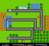 Nazo no Magazine Disk - Nazoler Land Dai-3 Gō  NES Sugoro Quiz - The board game map