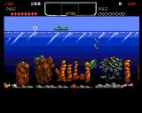 The Deep Amiga A jellyfish with rockets. A completely normal day at sea.