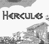 Disney's Hercules Game Boy Title screen
