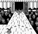 Disney's The Hunchback of Notre Dame Game Boy Djali Bowling: Choosing the position...