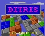 Ditris Amiga Title screen