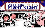 Fight Night Atari 7800 Title screen
