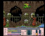 Dragon Fighter Amiga The first level