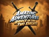 Amazing Adventures: Riddle of the Two Knights Windows Main title