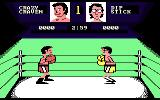 Fight Night Atari 7800 Beginning a fight